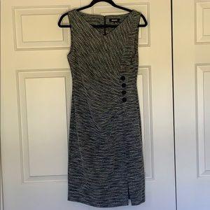 "Dkny Dresses - ""DKNY"" Dress w/ 4 logo'ed buttons"